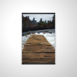 Magnetic 20 x 30 - 3D - Dock and lake