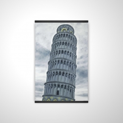 Magnetic 20 x 30 - 3D - Tower of pisa in italy