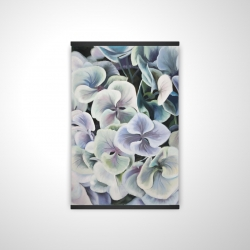 Magnetic 20 x 30 - 3D - Colorful hydrangea flowers