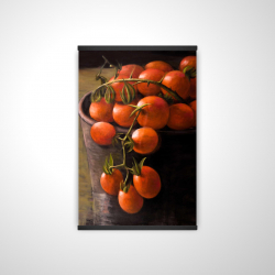 Magnetic 20 x 30 - 3D - Bucket of cherry tomatoes