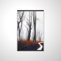 Magnetic 20 x 30 - 3D - Mysterious forest with stream