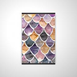 Magnetic 20 x 30 - 3D - Purple like a mermaid