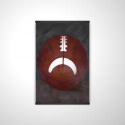 Magnetic 20 x 30 - 3D - Football ball