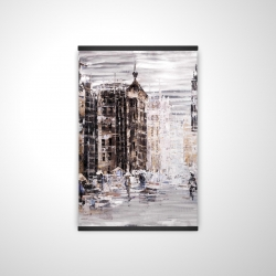 Magnetic 20 x 30 - 3D - Industrial abstract city