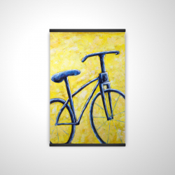 Magnetic 20 x 30 - 3D - Blue bike abstract
