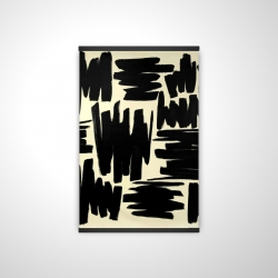 Magnetic 20 x 30 - 3D - Deconstructed stripes