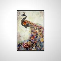 Magnetic 28 x 42 - 3D - Majestic peacock