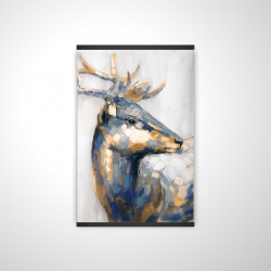 Magnetic 20 x 30 - 3D - Golden deer
