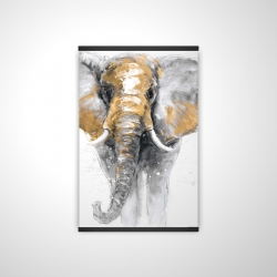 Magnetic 20 x 30 - 3D - Golden elephant