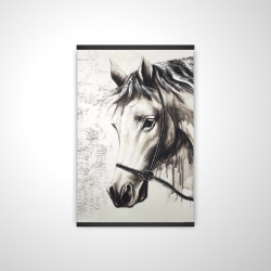 Magnetic 20 x 30 - 3D - Alpha the white horse