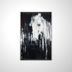 Magnetic 20 x 30 - 3D - Abstract horse on black background