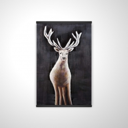 Magnetic 28 x 42 - 3D - Lonely deer