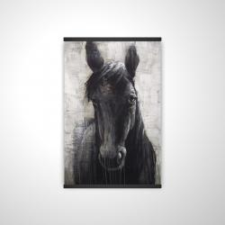 Magnetic 20 x 30 - 3D - Black horse