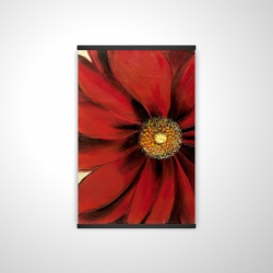 Magnetic 20 x 30 - 3D - Red daisy
