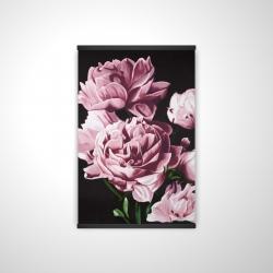 Magnetic 20 x 30 - 3D - Pink peonies