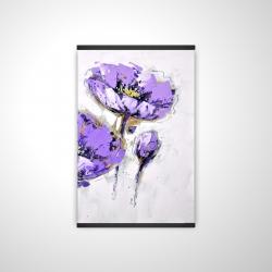 Magnetic 20 x 30 - 3D - Purple anemones