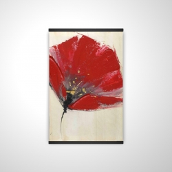 Magnetic 20 x 30 - 3D - Two red flowers