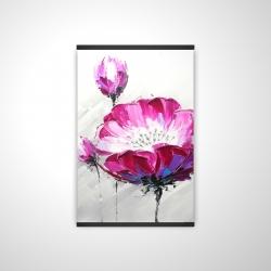 Magnetic 20 x 30 - 3D - Fuchsia wild flower