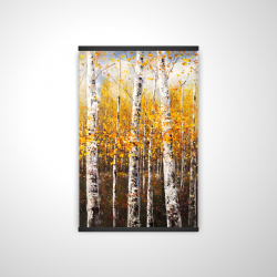 Magnetic 20 x 30 - 3D - Birches by sunny day