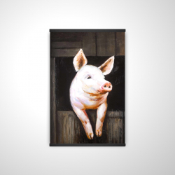 Magnetic 20 x 30 - 3D - Smiling pig
