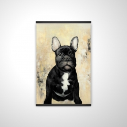 Magnetic 28 x 42 - 3D - French bulldog