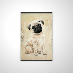 Magnetic 20 x 30 - 3D - Small pug