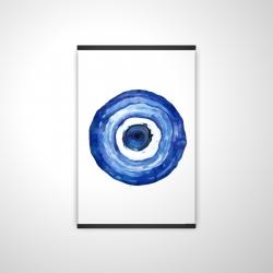 Magnetic 20 x 30 - 3D - Erbulus blue evil eye
