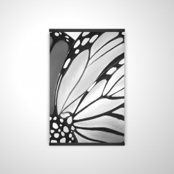 Magnetic 20 x 30 - 3D - Monarch wings closeup