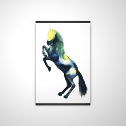Magnetic 20 x 30 - 3D - Greeting horse