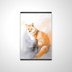 Magnetic 20 x 30 - 3D - Watercolor fox