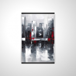 Magnetic 20 x 30 - 3D - Abstract cityscape