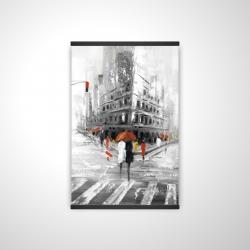 Magnetic 20 x 30 - 3D - Greyish flatiron building