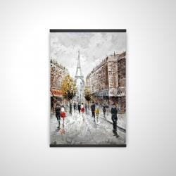 Magnetic 20 x 30 - 3D - Paris busy street
