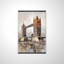 Magnetic 20 x 30 - 3D - London tower bridge