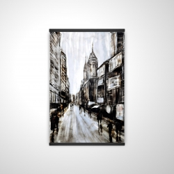 Magnetic 20 x 30 - 3D - Busy gray street