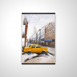 Magnetic 20 x 30 - 3D - Taxi in the street sketch