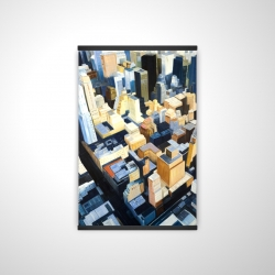 Magnetic 20 x 30 - 3D - Manhattan view of the empire state building