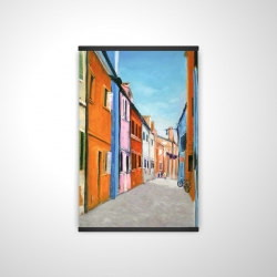 Magnetic 20 x 30 - 3D - Colorful houses in italy