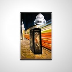 Magnetic 20 x 30 - 3D - Fast london bus