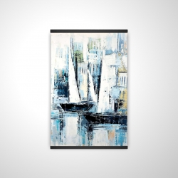 Magnetic 20 x 30 - 3D - Industrial style boats