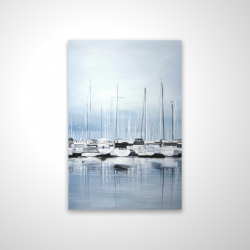 Magnetic 20 x 30 - 3D - Boats at the dock 2