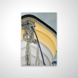 Magnetic 20 x 30 - 3D - The yellow boat