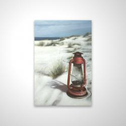 Magnetic 20 x 30 - 3D - Lantern on the beach