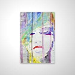 Magnetic 20 x 30 - 3D - Abstract colorful portrait