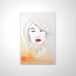 Magnetic 20 x 30 - 3D - Portrait in watercolor