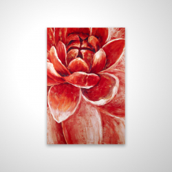 Magnetic 20 x 30 - 3D - Red chrysanthemum