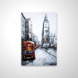 Magnetic 28 x 42 - 3D - Abstract london and red bus