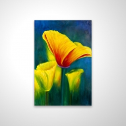 Magnetic 20 x 30 - 3D - Beautiful colorful flowers