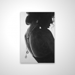 Magnetic 20 x 30 - 3D - Chic woman with jewels