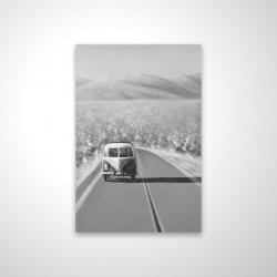 Magnetic 20 x 30 - 3D - Car on the road again